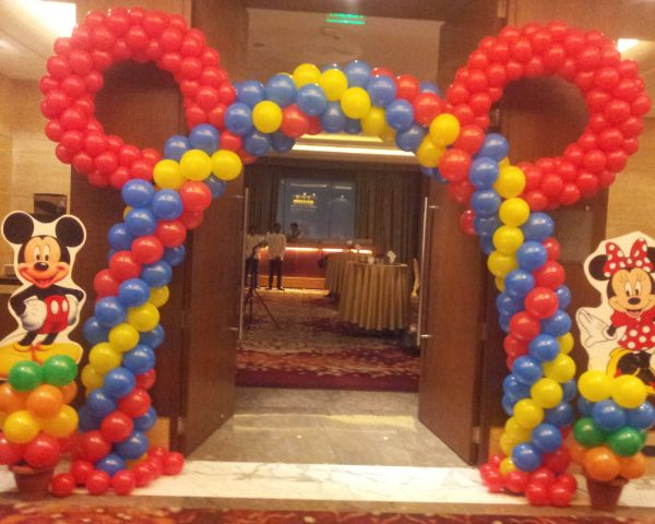 Balloon Decoration In Gurgaon Decorators Birthday