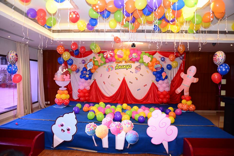 Balloon Decoration In Delhi Birthday Balloon Decorators